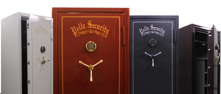 Vault doors for homes pella security residential vault for Custom home safes