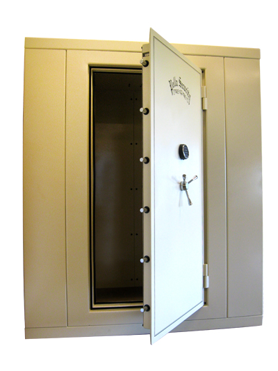 Modular Safe Room - The Man Cave - Pella Security - Iowa Custom Gun